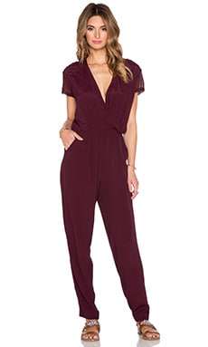 Cove Jumpsuit in Oxblood