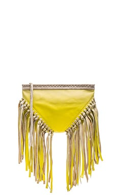 Concert Clutch in Chartreuse