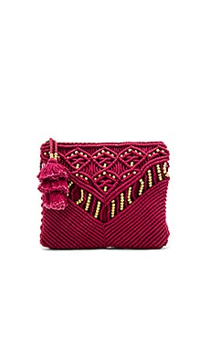 Sevigny Clutch in Wine