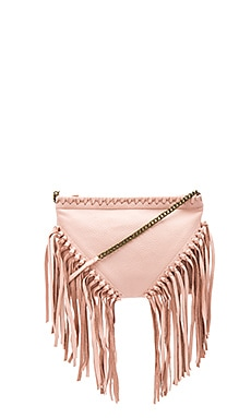 Tia Clutch in Blush