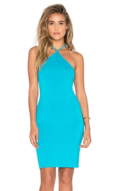 Maliya Dress in Turquoise