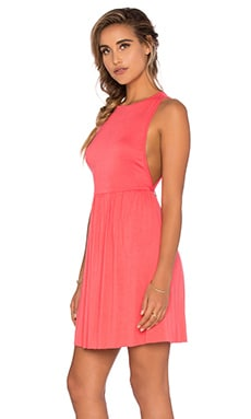 Amber Dress in Coral
