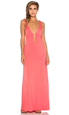 Skyler Dress in Coral