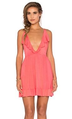 Sonja Dress in Coral