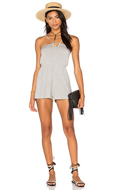 Bristol Playsuit in Heather Grey