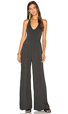 Agnes Jumpsuit in Charcoal