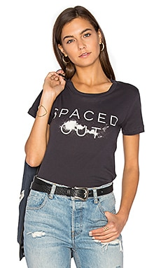 Spaced Out Tee in Charcoal