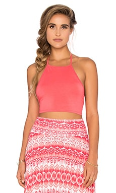Nora Top in Coral