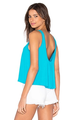 Cedric Top in Turquoise