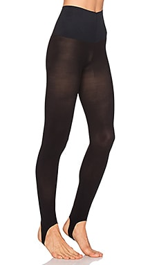The Ultimate Opaque Stirrup Tight in Black
