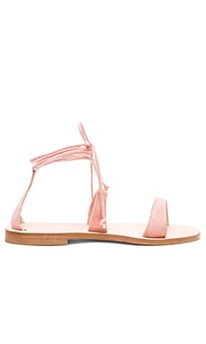 Lannio Sandal in Pink Suede
