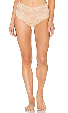 Trenta High Rise Thong in Nude
