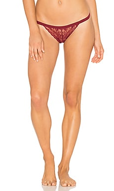 Dolled Up G String in Roaring Burgundy