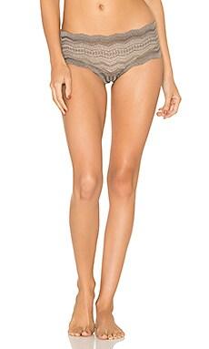 Ceylon Lowrider Hotpant Underwear in Smoky Gray