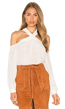 Delmar Blouse in White