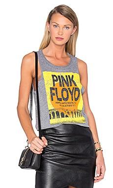Pink Floyd Pompeii Tank in Streaky Grey