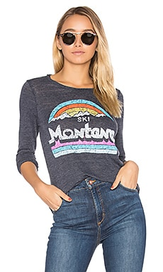 Montana Long Sleeve Tee in Avalon