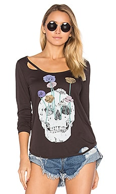 Garden Skull Tee in Union Black