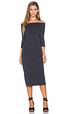 Jason Dress in Medium Heather Grey