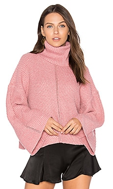 Phil Sweater in Dusty Rose