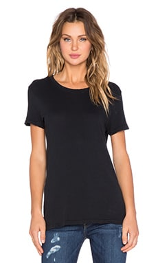 The Petit Tee in Black Beauty