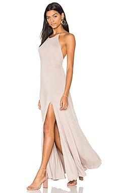Nikki Dress in Taupe