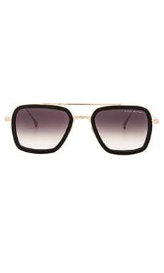 Flight .006 Sunglasses in Matte Black & Dark Grey