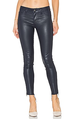 Margaux Coated Ankle Skinny in Divingbell