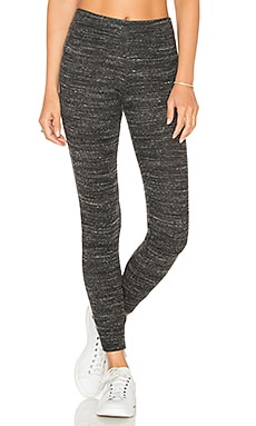 Skinny Cuffed Legging in Charcoal Heather