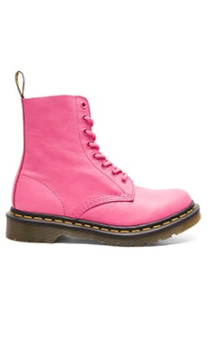 Pascal 8-Eye Boot in Hot Pink