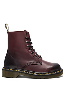 Pascal 8 Eye Boot in Cherry Red