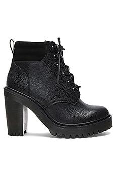 Persephone FL 6 Eye Boots in Black