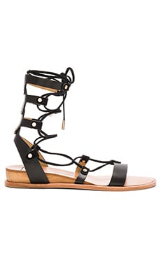 Pax Sandal in Black