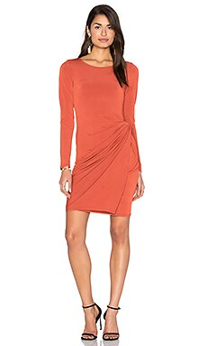 Knot Dress in Spice