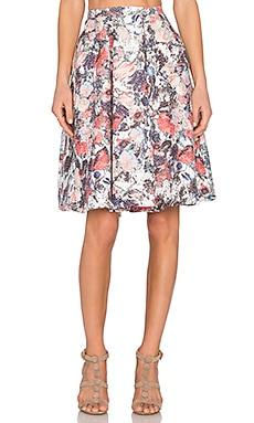 Serafina Skirt in Multi Floral