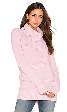 Talassa Turtleneck Sweater in Wild Rose