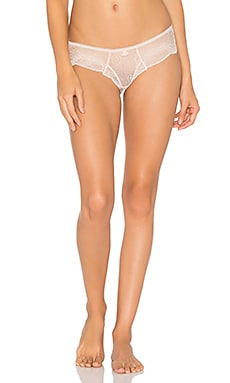 Estelle Cinched Hipster in Pearl Pink