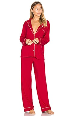 Gisele PJ Set in Cherry