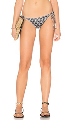 Fossil Rock Kate Bikini Bottom in Peppercorn