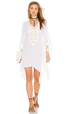 Balsa Beach Terra Cover Up in White
