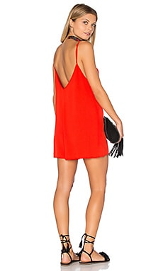 Cami Romper in Cherry Tomato