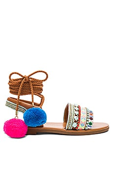 LA Lover Sandal in Multi
