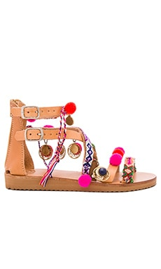 Gipsy Spell Sandal in Multi