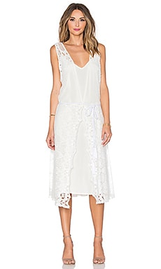 Thistle Dress in White