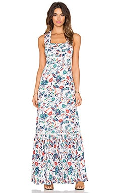 Dolce Flora Maxi Dress in Natural