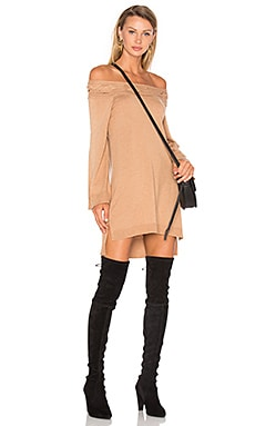 Blinda Sweater Dress in Camel
