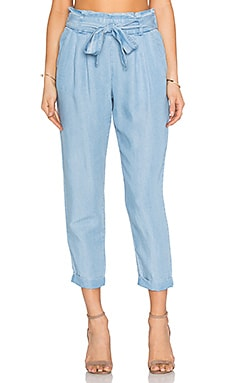 Stella Pant in Chambray