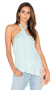 Bella Drape Tank in Mint