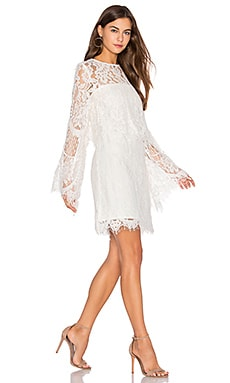 Epitome Dress in White