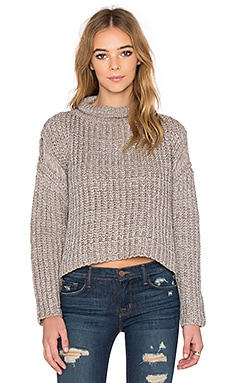 Grasslands Sweater in Pebble